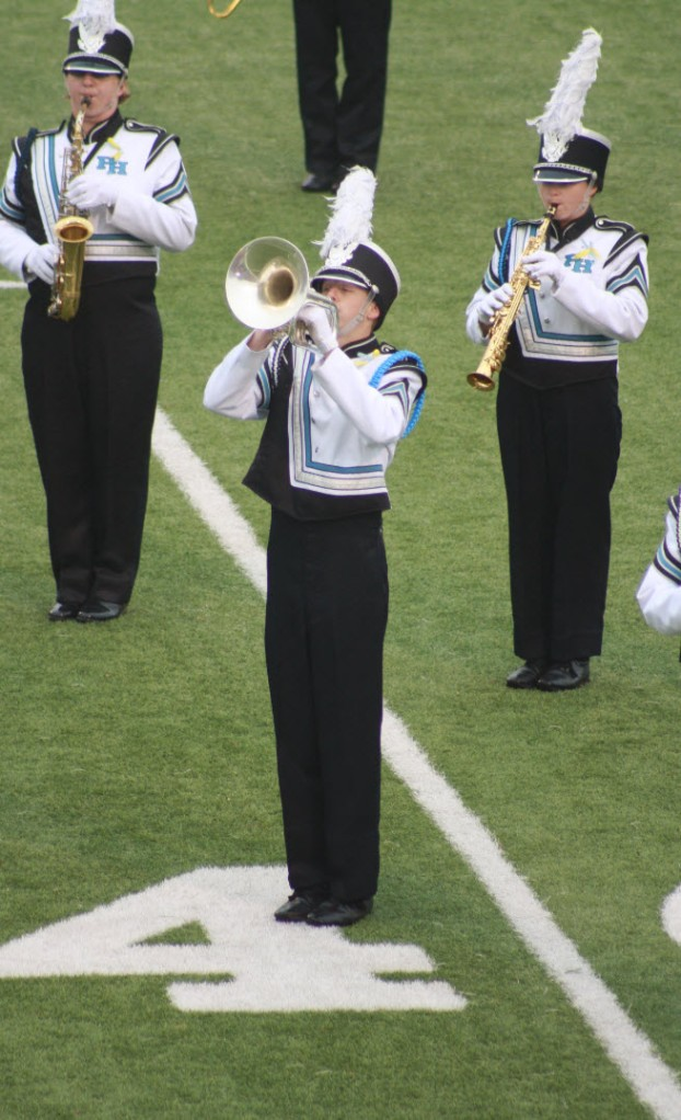 My son as a senior with the Patrick Henry Rebel Regiment