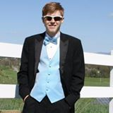 The 2013 Prom picture that now is his Facebook profile.