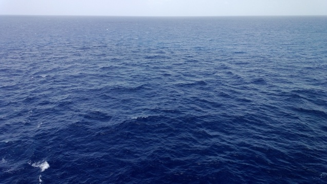 The blue of the Caribbean waters is something everyone should see.