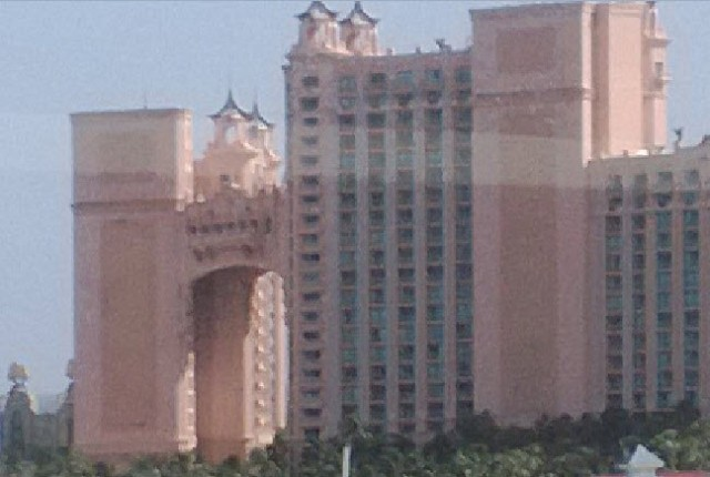 A photo of the Atlantis hotel in Nassau, The Bahamas