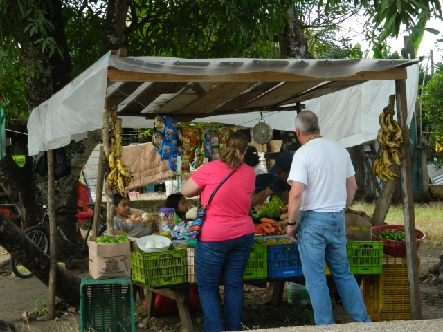 This was a small fruit and vegetable stand near Maya Mopan in Belize.