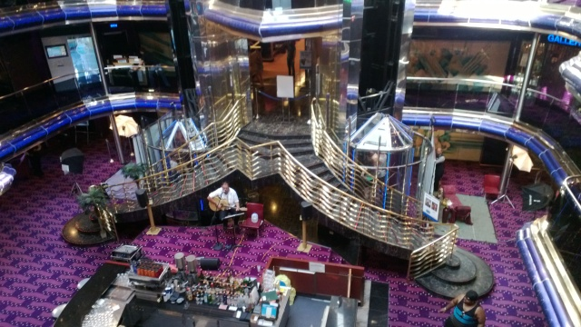Inside the Carnival Sensation.