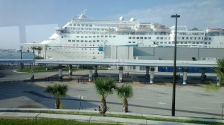 The Carnival Sensation, our home away from home for five days.