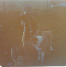 Puff, Master and me around 1975.