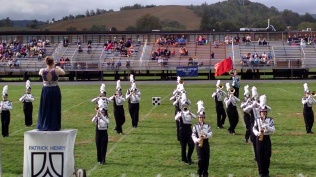 Chilhowie, VA Apple Festival Band Competition in the fall of 2015